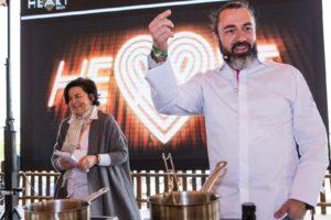 Rafa Zafra presentó un ideario culinario del Patromonio. A.B.