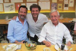 Pedro Matutes, David Rearte y Ansón. Foto: T.S.