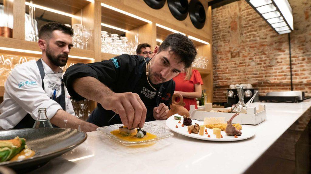 Álvaro Sanz, chef de Es Tragón
