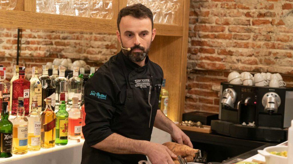 José Miguel Bonet, chef de Es Ventall de Sant Antoni
