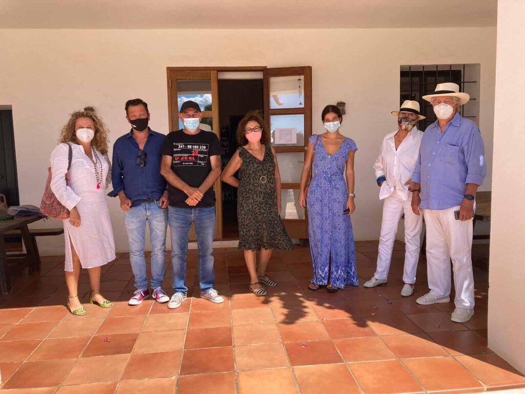 La Academia de Gastronomía de Ibiza y Formentera visita la bodega Can Rich
